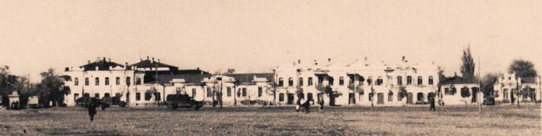 Базарная площадь. 1942 г.