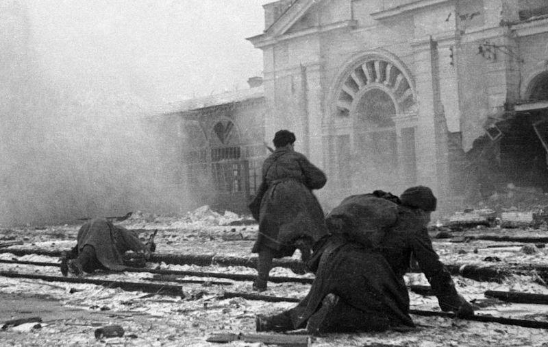 Бой за город. 20 января 1943 г.