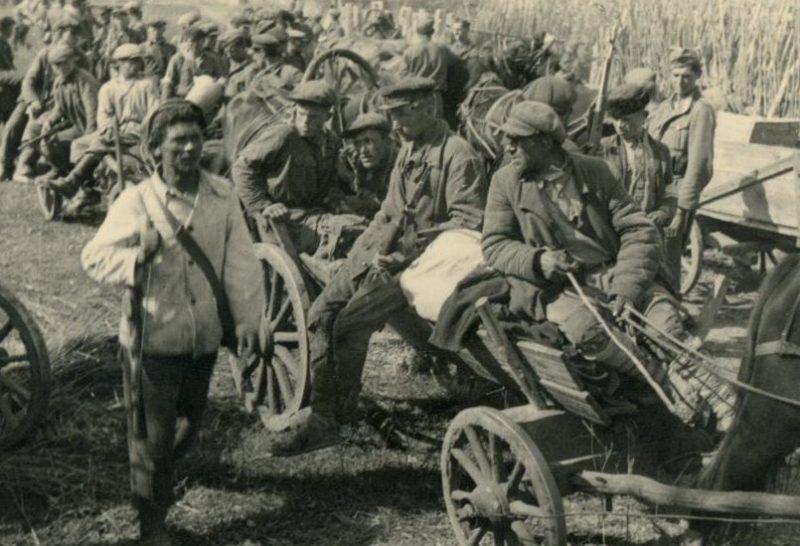 Подразделения самоохраны Локотской «республики».