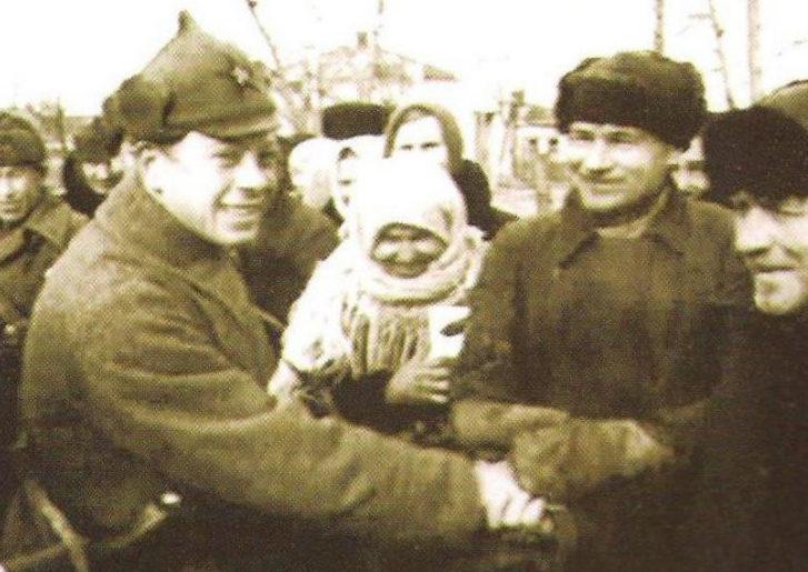 Встреча освободителей. Январь 1943 г.