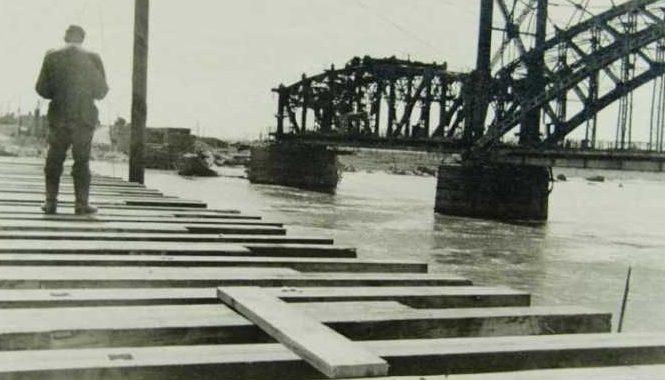 Яблоновский мост. 1942 г.