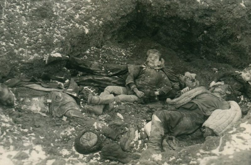 Партизаны, расстрелянные немецкими оккупантами. 23 января 1943 г.
