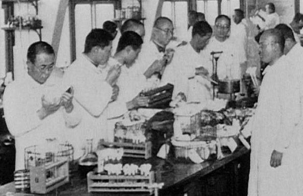 Лаборатории «Отряда 731».