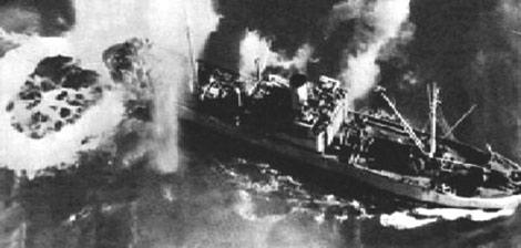 Бомбардировка порта. 1942 г.