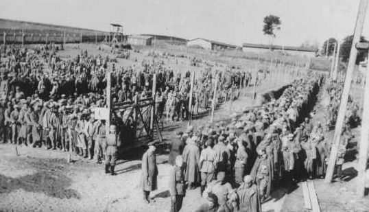 Советские военнопленные. Шталаг 360. 1941 г.