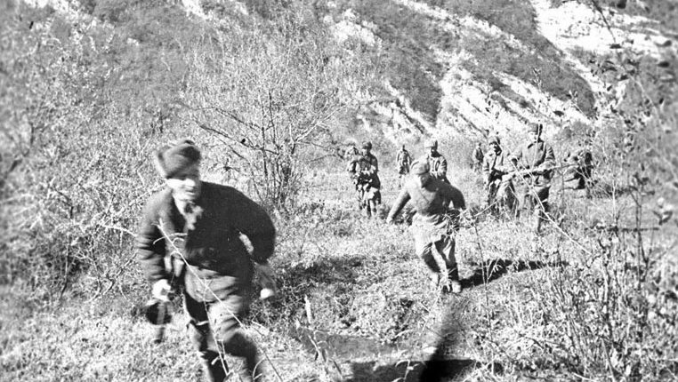 В боях за город. Январь 1943 г.