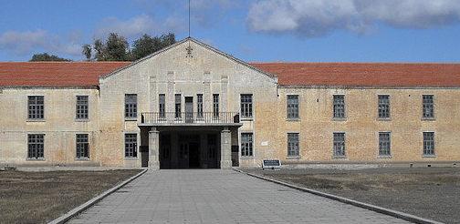 Главный административный корпус «Отряда 731» сегодня.