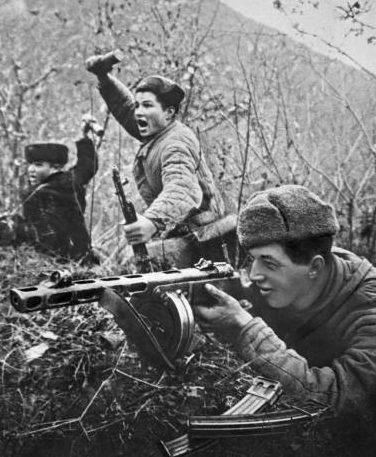 Бой за Туапсе. 1942 г.