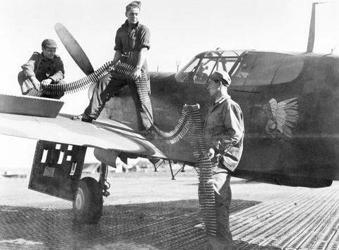 База Сиди-Ахмед, Тунис. Июль 1944 г.