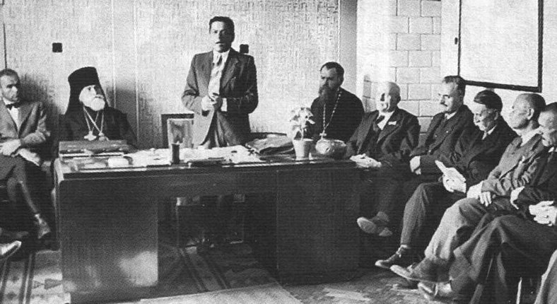 Заседание Украинского Совета Доверия. 31 августа 1941 г.