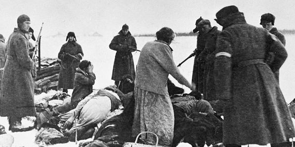 Расстрел черниговских евреев. 1941 г.