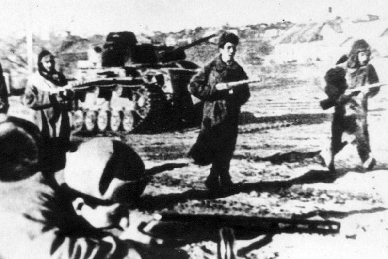 Советское наступление. Январь 1943 г.