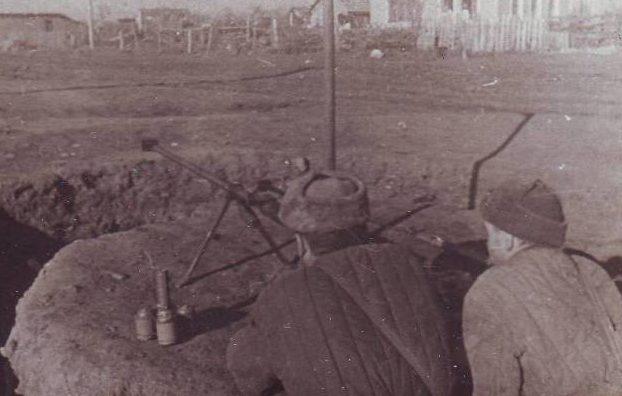 Уличные бои в Нальчике. Январь 1943 г.
