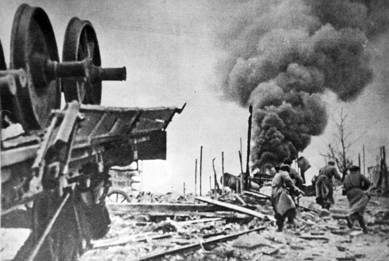 Уличные бои. Январь 1943 г.