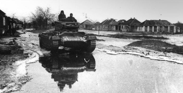 Освобожденный Нальчик. Январь 1943 г.