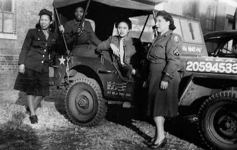Военнослужащие почтовой службы. 1944 г.
