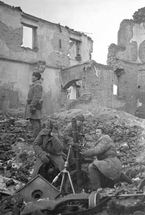 Бой за город. Январь 1944 г.