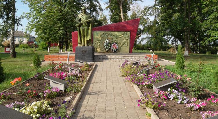 с. Меняйлово Алексеевского городского округа. Памятник по улице Центральная 16, установленный на братской могиле, в которой похоронено 5 советских воинов, в т.ч. 4 неизвестных, погибших в 1943 году.