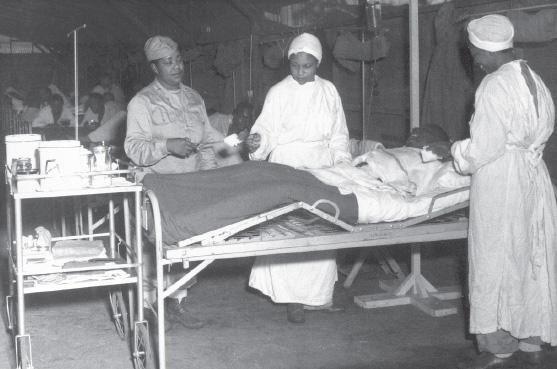 Афроамериканские медсестры WAC. Июнь 1944 г.
