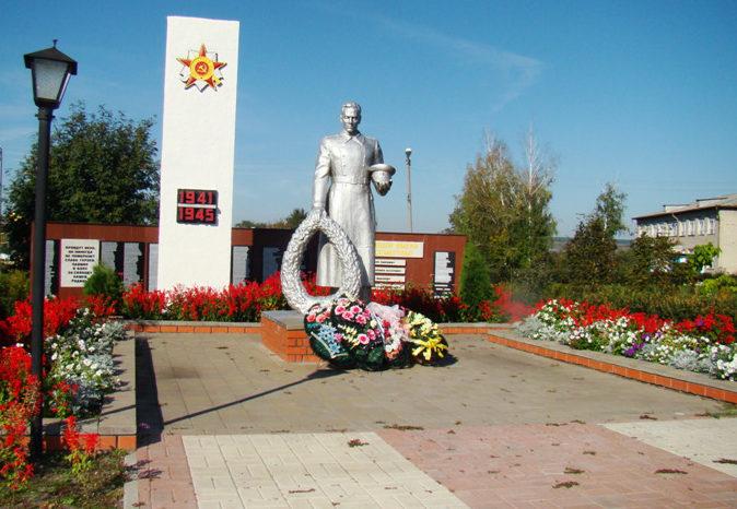 с. Мухоудеровка Алексеевского городского округа. Братская могила по улице А.Никитенко 39а, в которой похоронено 27 советских воинов, в т.ч. 24 неизвестных, погибших в 1943 году.