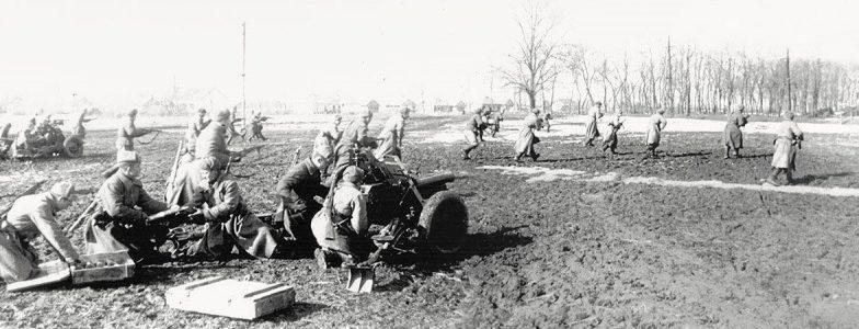 Бой в пригороде. Апрель 1944 г.