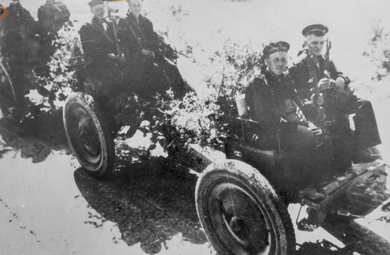 Морские пехотинцы - защитники Туапсе. 1942 г.