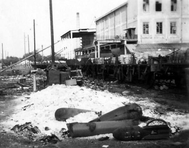 Железнодорожная станция Краснодар. 1942 г.