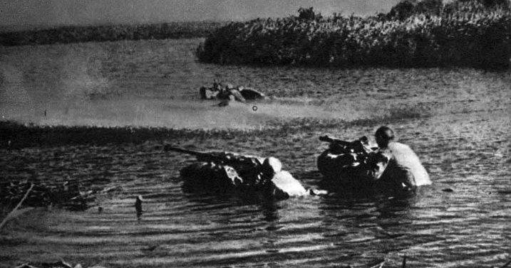 Форсирование Десны советскими войсками Сентябрь 1943 г.