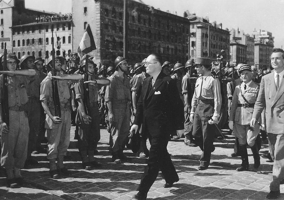 Освобожденный Марсель. 19 августа 1944 г.