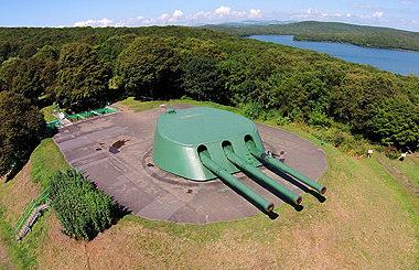 Башня №2 Ворошиловской батареи.