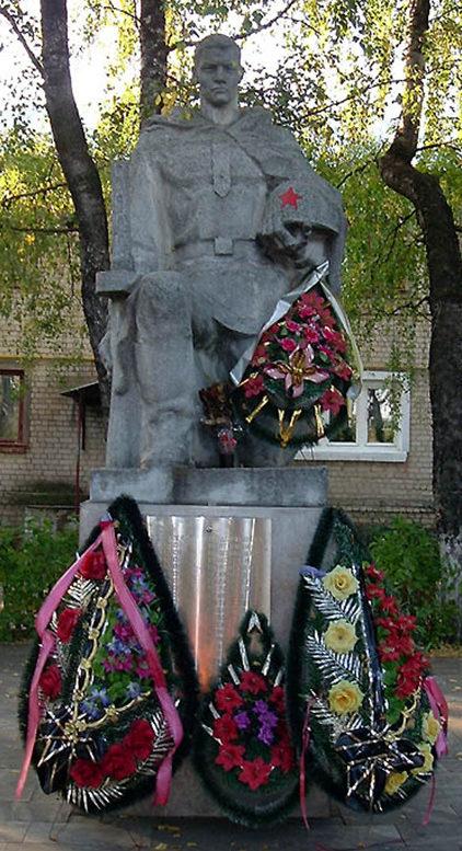 с. Веселая Лопань Белгородского р-на. Братская могила советских воинов.