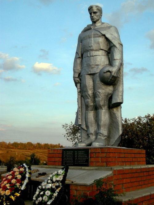 с. Грязное Белгородского р-на. Братская могила советских воинов.