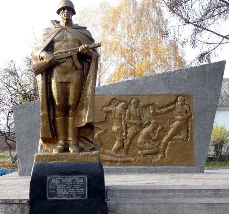 с. Прудки Корочанского р-на. Братская могила советских воинов.