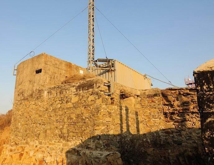 Командно-наблюдательный пункт позиции «Вампаусу».