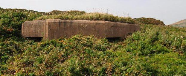Трёхамбразурный ДОТ №9 «Прибой» на острове Русский был построен в 1938 году. Расположен на мысе Вятлина. Класс защиты - М-2.