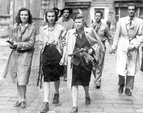 Члены Сопротивления. Сентябрь 1944 г.