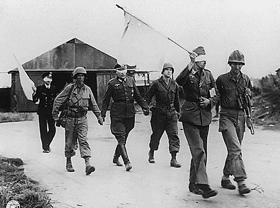 Капитуляция Брестского гарнизона американцам. Октябрь 1944 г.