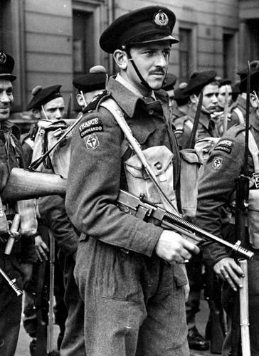 Коммандос Свободных Французских Военно-Морских. 1944 г.