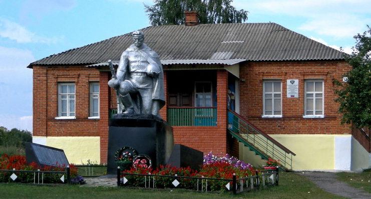с. Акулиновка Борисовского р-на. Памятник погибшим землякам.