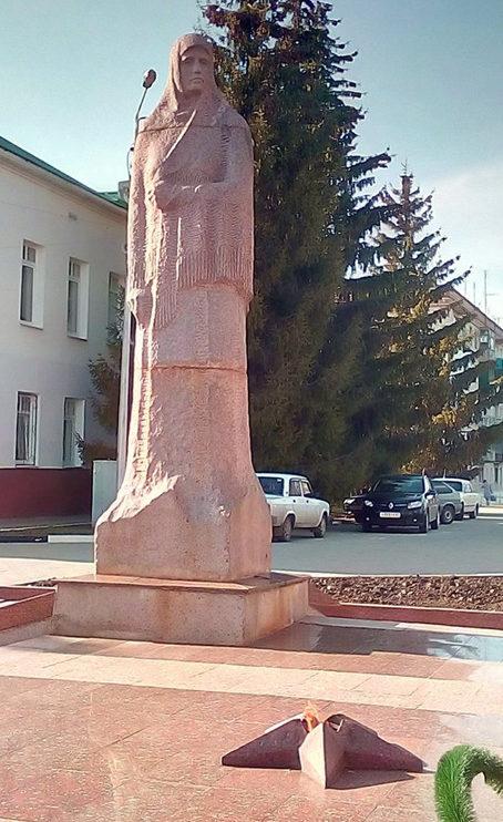 Скульптура «Скорбящей матери».