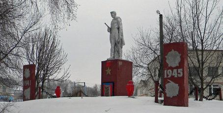 с. Палатово Красногвардейского р-на. Памятник советским воинам.