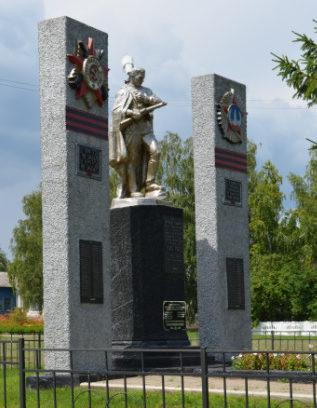 с. Стрелецкое Красногвардейского р-на. Памятник по улице Победы 1а, установленный на братской могиле, в которой похоронено 36 советских воина, в т.ч. 32 неизвестных, погибших в 1943 году.