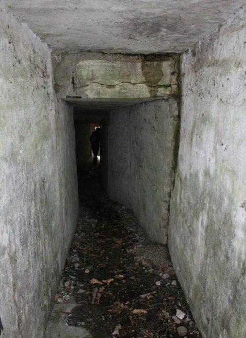 Подземный соединительный ход.