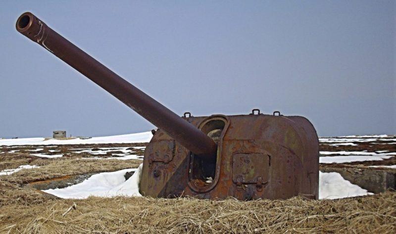 Орудийная позиция Б-13.