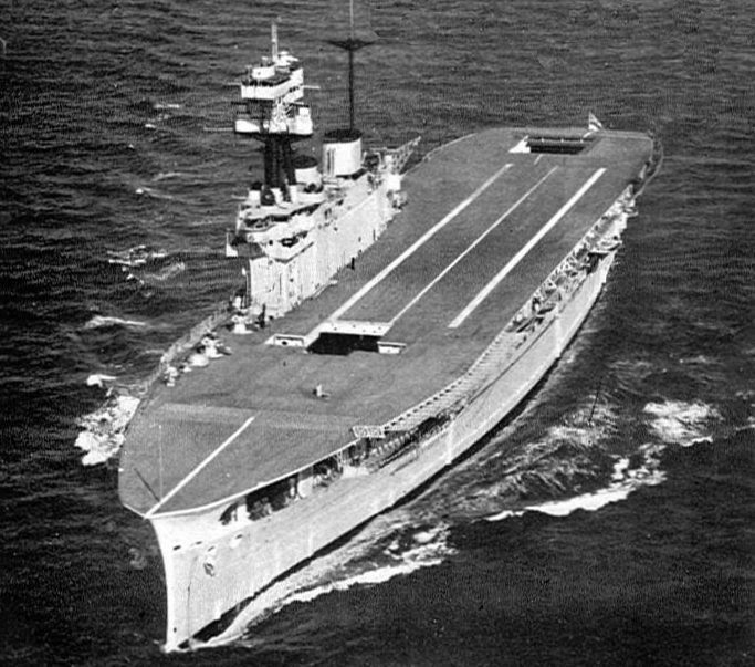 Авианосец HMS «Eagle». 1936 г.