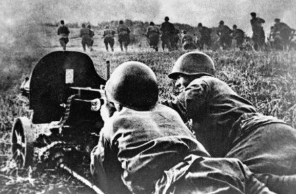 Бои на подступах к Сталинграду.
