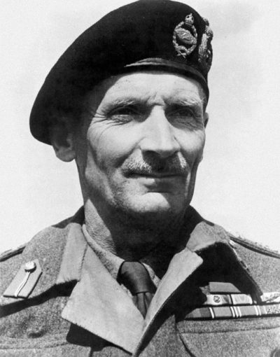 Фельдмаршал Монтгомери.