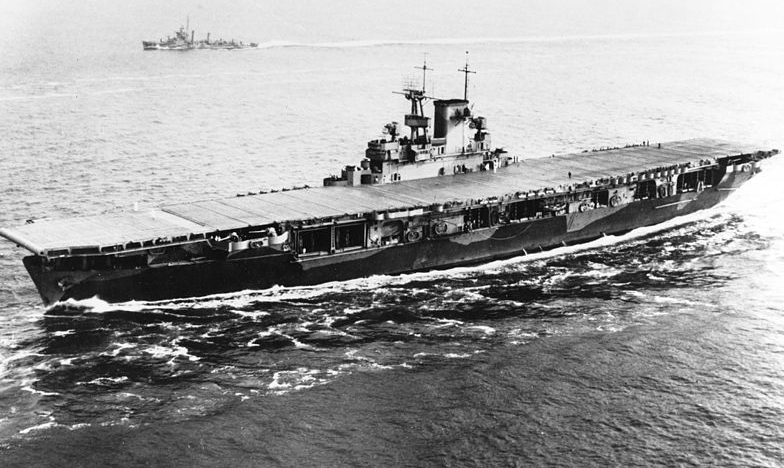 Авианосец «Уосп» в мае 1942 года.