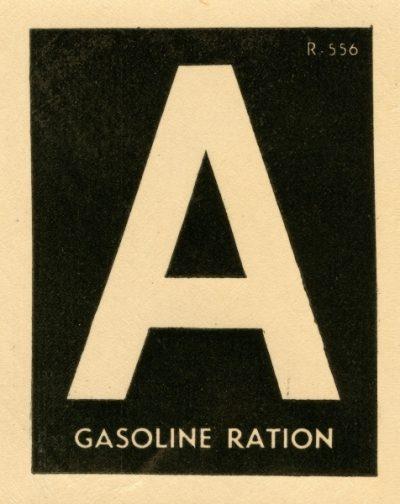 Наклейка «А» на лобовое стекло авто.