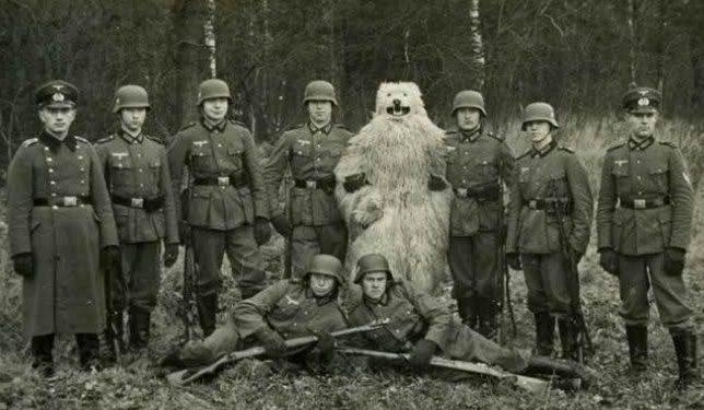 Гитлер обещал медведей в России. Нашли!